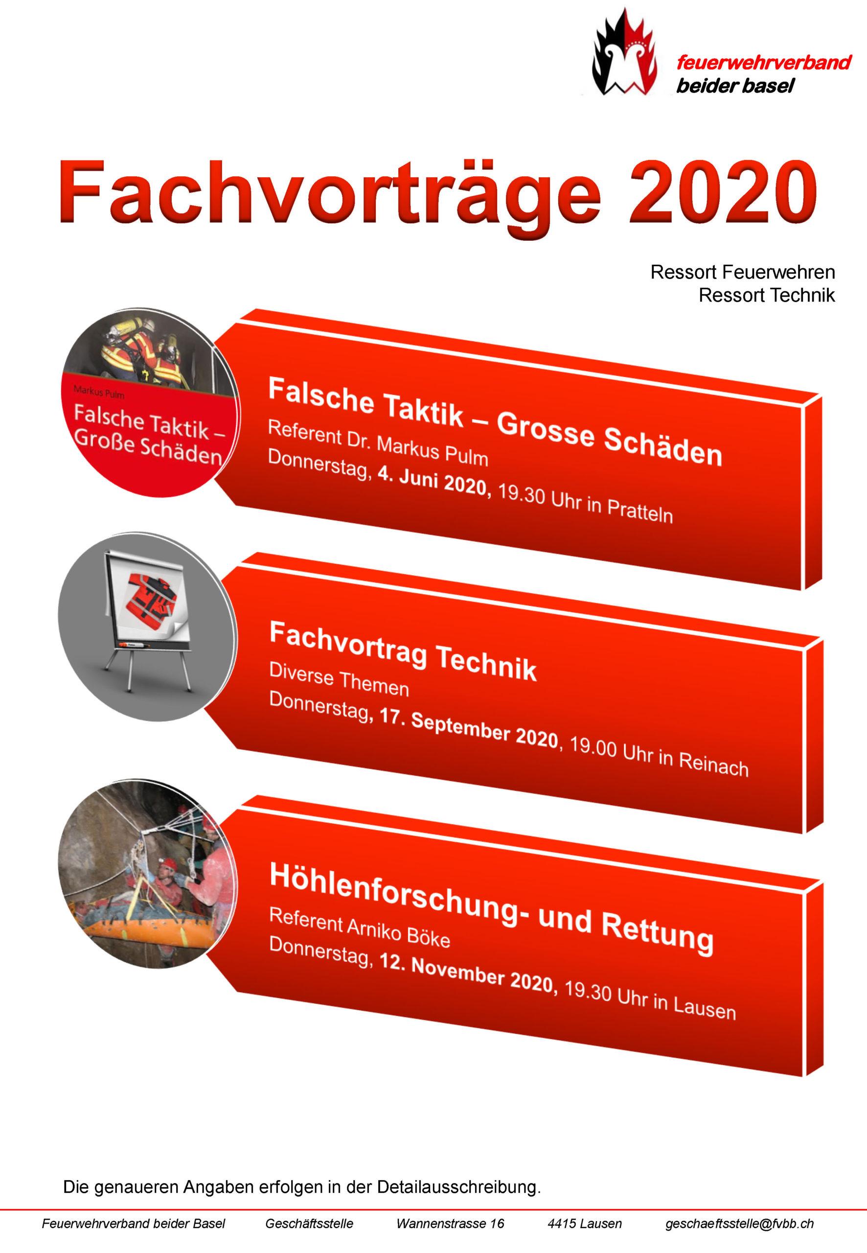 Fachvortrag FVBB im 2020